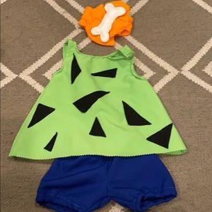 Baby 0-3 month Flintstones Pebbles costume